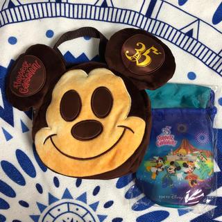 Disney - 35周年ミッキーパン&ペットボトルホルダー&ミニタオル