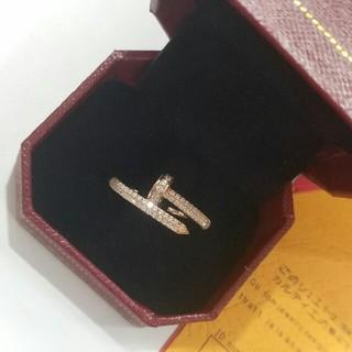 カルティエ(Cartier)のCartier リング ダイヤモンド 指輪 超美品 レディース(リング(指輪))