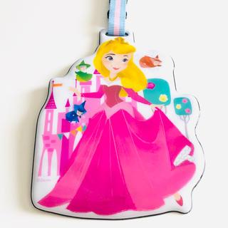 Disney - 眠れる森の美女 オーロラ姫 ラゲッジタグ パスケース