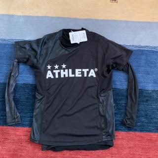 アスレタ(ATHLETA)のアスレタ 新品 サッカーインナー付きシャツ Sサイズ(ウェア)
