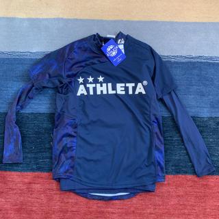 アスレタ(ATHLETA)のアスレタ 新品 インナー付きシャツ Sサイズ(ウェア)
