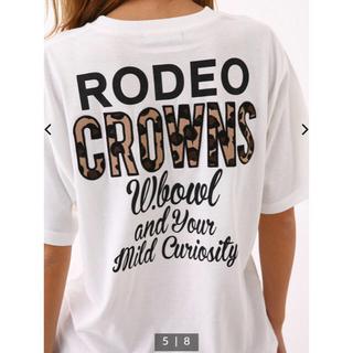 RODEO CROWNS WIDE BOWL - RCWB★TEX PP Tシャツ★ホワイト★定価以下