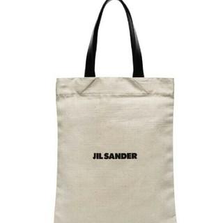 Jil Sander - 新品 19aw ジルサンダー jil sander ロゴ キャンバス トート
