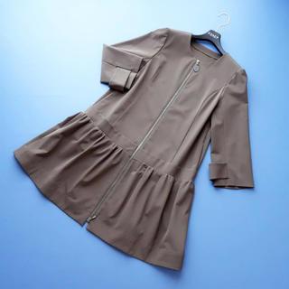 フォクシー(FOXEY)の■FOXEY■ 38 RAINYコート ココアブラウン コート(ロングコート)