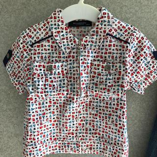 BURBERRY - バーバリー ジッパーシャツ 男の子 80
