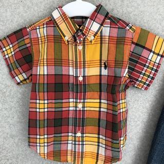 Ralph Lauren - ラルフローレン 半袖シャツ チェックシャツ