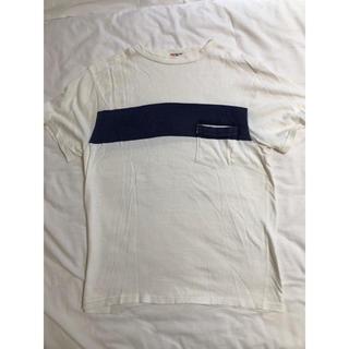 ビームス(BEAMS)のKAPTAIN SUNSHINE West Coast Tee ホワイト M(Tシャツ/カットソー(半袖/袖なし))