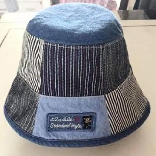 DOUBLE.B - ダブルB リバーシブル帽子ハット 帽子