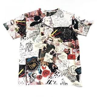 【FENDI】Karl kollage プリント Tシャツ