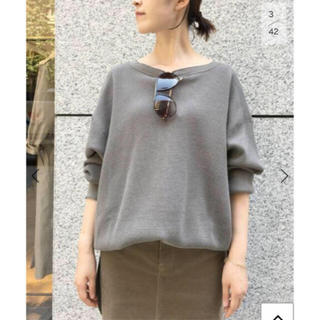 L'Appartement DEUXIEME CLASSE - AMERICANA THERMAL BACK HENLEY NECK カーキ