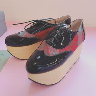 ヴィヴィアンウエストウッド(Vivienne Westwood)のVivienne Westwood ロッキンホース ギリー UK5(ローファー/革靴)