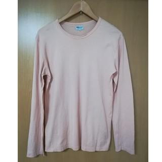 サンスペル(SUNSPEL)のSUNSPEL カットソー 長袖 ピンク Sサイズ(Tシャツ/カットソー(七分/長袖))