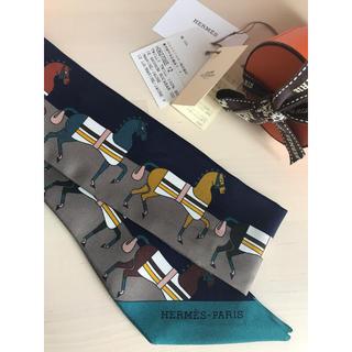 エルメス(Hermes)のさくらんぼ様ご専用✨HERMES 🍊ツイリー ロカバール 🐎✨国内正規店購入(バンダナ/スカーフ)