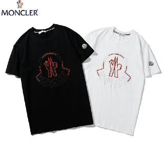 MONCLER - 2枚7000円送料込み Tシャツ 刺繍 男女兼用