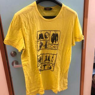 ブラックゴールド(BLACK GOLD)のTシャツ DIESEL BLACKGOLD イエロー(Tシャツ/カットソー(半袖/袖なし))