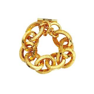 モスキーノ(MOSCHINO)のH&M × モスキーノ ゴールドメッキ ブレスレット(ブレスレット/バングル)