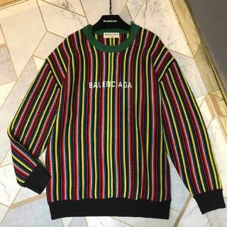 バレンシアガ(Balenciaga)の正規品 バレンシアガ ニット セーター 定番 メンズ ファッション (ニット/セーター)
