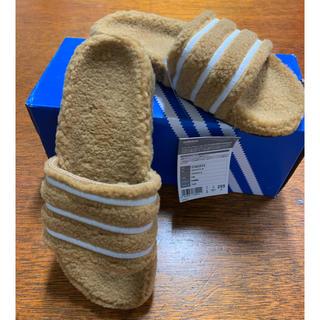 アディダス(adidas)のadidas オリジナル アディレッタW 限定 冬仕様(サンダル)