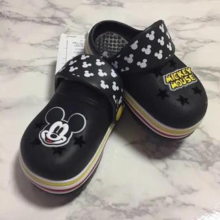 Disney - 即購入OK!新品タグ付 ディズニー キッズ ベビー クロックス風サンダル