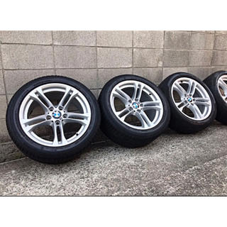 BMW - 純正ホイール 売り切りBMWF10 後期Mスポーツ純正アルミホイール 18インチ