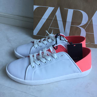 ZARA - ZARA  スニーカー  2way  新品未使用