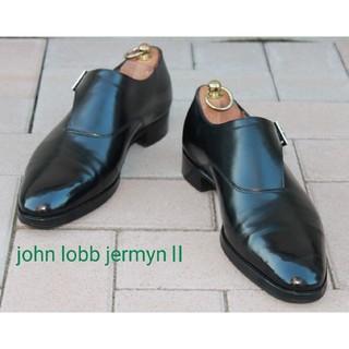 JOHN LOBB - 超美品ジョンロブジャーミンⅡ!6H1/2ラスト7000サイドモンクの最高峰