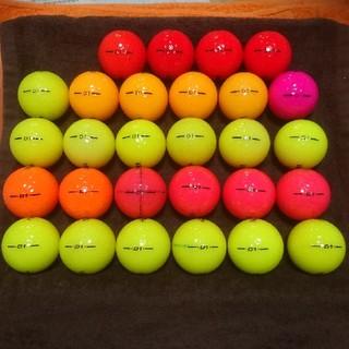 ホンマゴルフ(本間ゴルフ)のロストボール ホンマ D1 カラー  28個(その他)