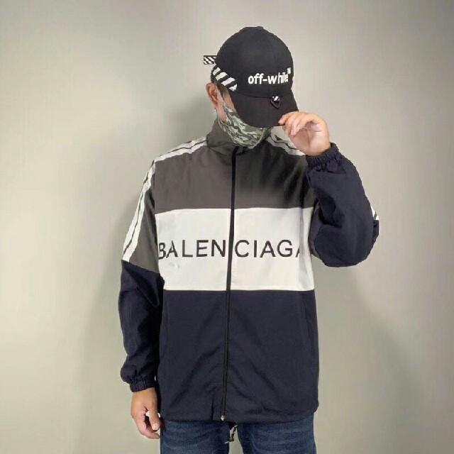 Balenciaga(バレンシアガ)のBALENCIAGA バレンシアガ トラックジャケット M メンズのジャケット/アウター(ナイロンジャケット)の商品写真