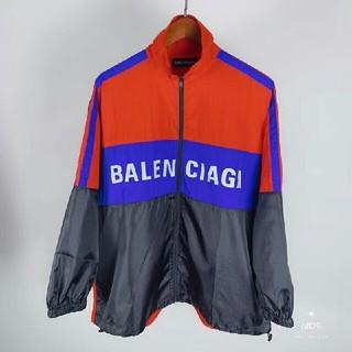 バレンシアガ(Balenciaga)のBALENCIAGA バレンシアガ トラックジャケット L(ナイロンジャケット)