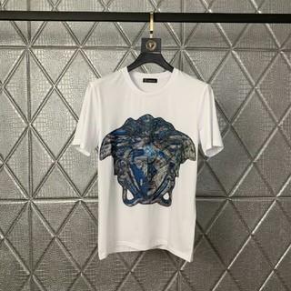 ヴェルサーチ(VERSACE)のおすすめ 超美品!VERSACE ヴェルサーチ 半袖 Tシャツ 男女兼用(Tシャツ/カットソー(半袖/袖なし))