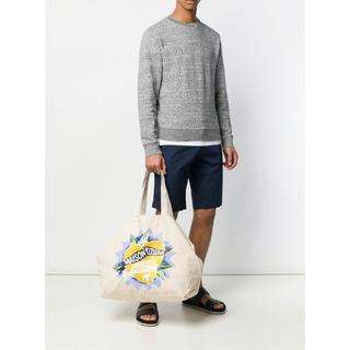 MAISON KITSUNE' - MAISON KITSUNE Limone Tote Bag 新品未使用タグ付き