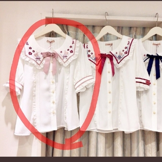 アマベル(Amavel)のmiko5822様専用🌟チャイナブラウスピンク(シャツ/ブラウス(半袖/袖なし))