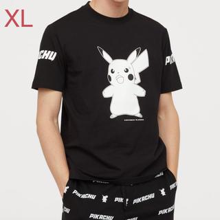 エイチアンドエム(H&M)の名探偵ピカチュウ tシャツ XL(Tシャツ/カットソー(半袖/袖なし))