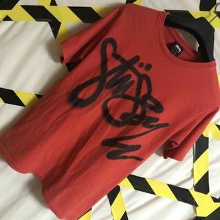 ステューシー(STUSSY)のスプレーロゴ stussy ステューシー  ど派手 ビックロゴ Tシャツ  S(Tシャツ/カットソー(半袖/袖なし))
