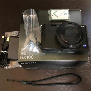 SONY - sony cybershot DSC-RX100