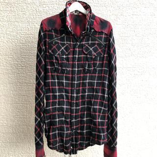 ルグランブルー(LGB)のLGB ルグランブルー SHIRT-G/M チェックシャツG メンズ1(シャツ)