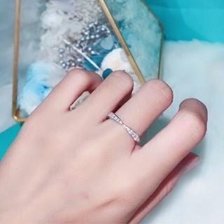 Tiffany & Co. - 希少 美品 ティファニー 指輪 オープンハートリング