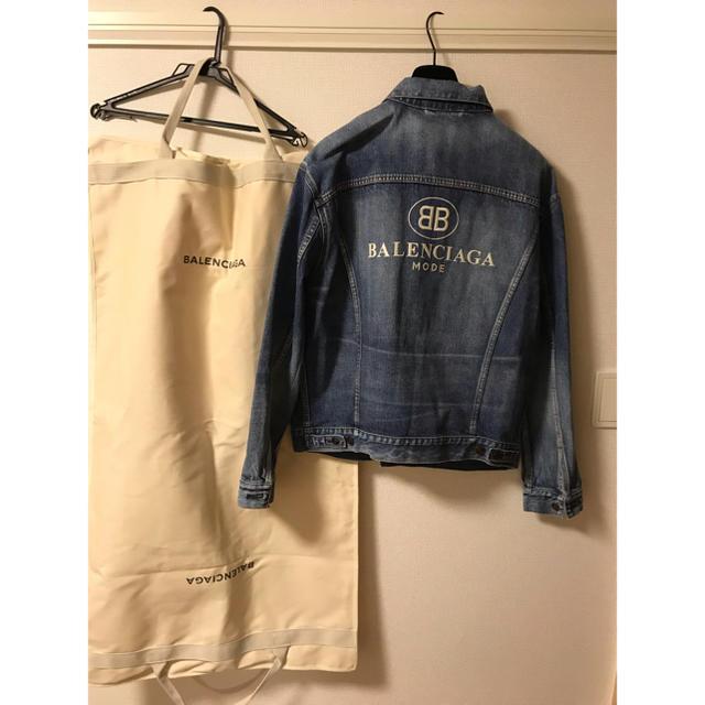 Balenciaga(バレンシアガ)のバレンシアガ メンズのジャケット/アウター(Gジャン/デニムジャケット)の商品写真