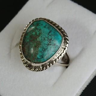 ビンテージ ナバホ インディアンジュエリー ターコイズ リング(リング(指輪))
