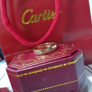 Cartier - 超美品 レディース 指輪 Cartier リング ダイヤモンド