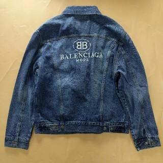 バレンシアガ(Balenciaga)の超美品!BALENCIAGAバレンシアガ メンズ デニムジャケット ファッション(Gジャン/デニムジャケット)