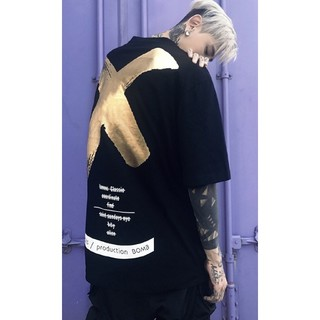 a♡ブラックゴールド♡ユニセックス(Tシャツ/カットソー(半袖/袖なし))