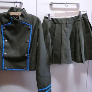 【COSREVO】コスレボ製 黒曜女子制服 クローム髑髏