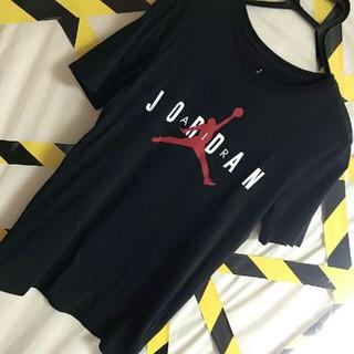 ナイキ(NIKE)のNIKE AIR JORDAN ジャンプマン  ビックロゴ  フェイス Tシャツ(Tシャツ/カットソー(半袖/袖なし))