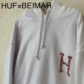 ハフ(HUF)の【希少】HUF×BEIMAR パーカー 裏起毛パーカー(パーカー)