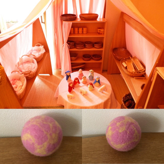 ミナペルホネン(mina perhonen)のシュタイナー教育 ボール handmade (ボール)