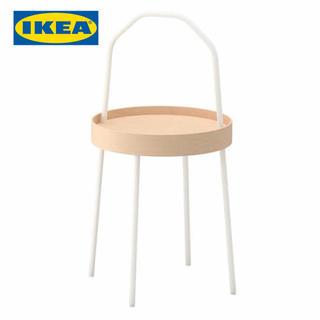 イケア(IKEA)のIKEA ブールヴィーク サイドテーブル ホワイト(コーヒーテーブル/サイドテーブル)