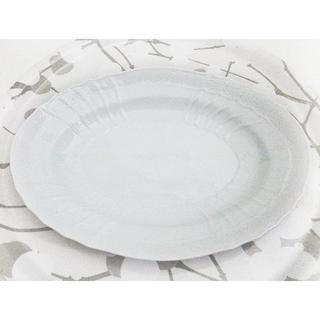 リチャードジノリ(Richard Ginori)のリチャードジノリ ベッキオホワイト オーバル プラター 34cm プレート 美品(食器)