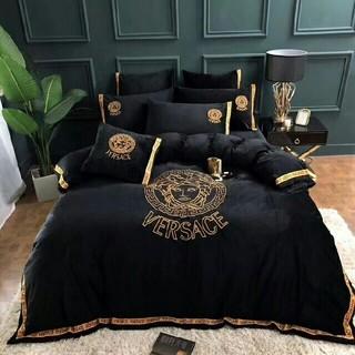 ヴェルサーチ(VERSACE)のversace 寝具カバー&高品質生4点セット(布団)