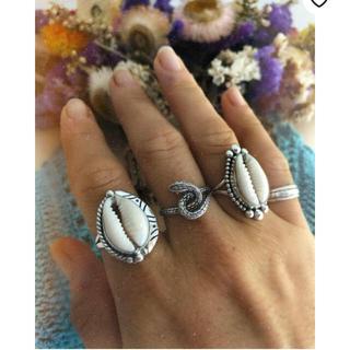 アリシアスタン(ALEXIA STAM)のシェル 指輪 リング タカラガイ(リング(指輪))